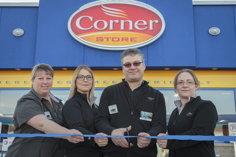 A new Corner Store with Ultramar service station opens in Cornwall