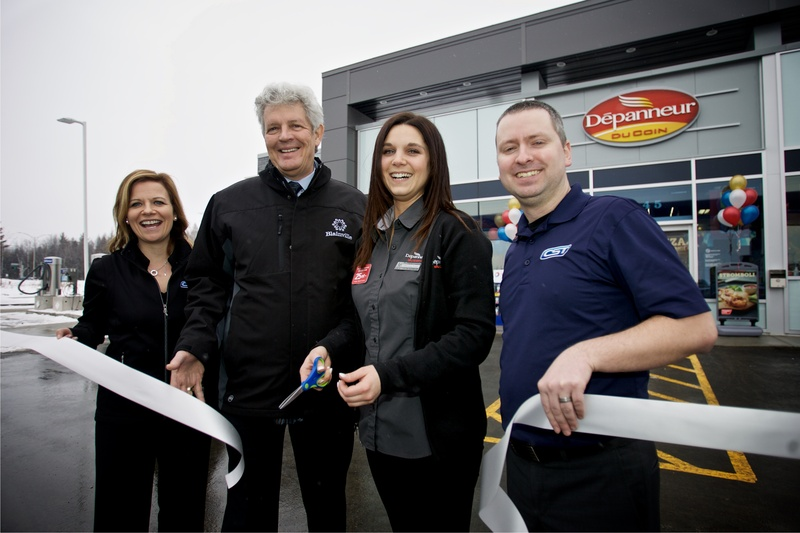A FIRST CORNER STORE WITH ULTRAMAR SERVICE STATION OPENS IN BLAINVILLE